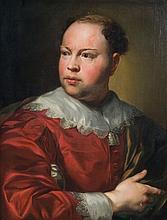 Attribué à Anton Raphaël MENGS (1728 - 1779) Portrait de Père John Gahagan (?- avant 1774) Toile 62 x 48 cm Petites restaurations an...