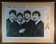 The Beatles limited edition photograph