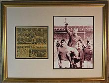 England World Cup Winners 1966 Signed Display