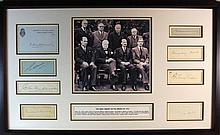 The 1941 War Cabinet Inc. Churchill Full Signed Presentation