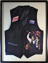 Ronnie O'Sullivan Final Worn and Signed Waistcoat