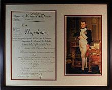 Napoleon Bonaparte (1769-1821) Signed Document