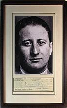 Carlo Gambino 'Godfather' signed