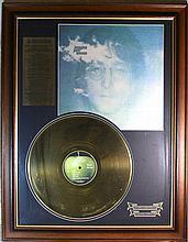 John Lennon Imagine Gold Disc Ltd Edition