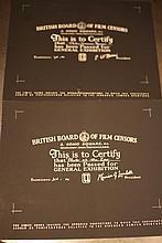 Pluto BBFC Certificates