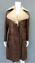 Oliver Reed (1938-99) Owned & Worn Fur Leather Coat