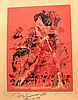 Leroy Neiman & Muhammad Ali Signed Serigraph Vintage 1973, Leroy Neimann, £3,000
