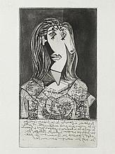 Pablo Picasso: Buste de femme à la chaise