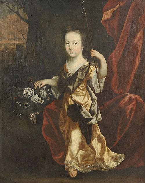Attributed to Edward Byng (c.1676-1753) Portrait