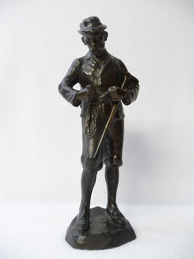 Adolf Josef Pohl (Austria, b.1872): A Bronze