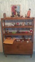Late 20th Century Wood Shelving Unit