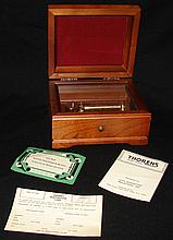 Thorens Vintage Music Box - 3 Tune - Walnut