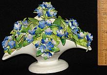 Crown Staffordshire Fine Porcelain Flower Basket