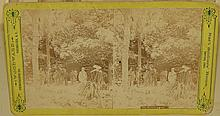 Antique Photograph Stereoview Civil War Soldier's