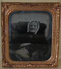 Antique Photograph - Post Mortem Ambrotype