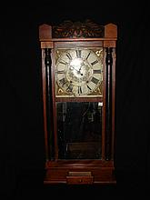 Langdon & Jones Half Column Shelf Clock