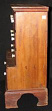 American Antique Spice Cabinet Miniature Step Back
