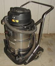 Powr - Flite Heavy Duty Wet / Dry Vacuum on Wheels