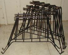 Steel Hay Rack Lot - Six ( 6 ) Racks -Wall Mount