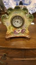 Royal Bonn China Shelf Clock