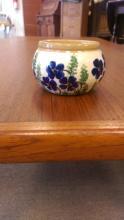Decorated Ceramic Jar Marked O'Neill Bunratty, IR