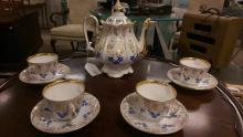 9pc Porcelain Tea Set