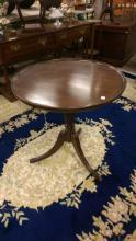 Antique 20th C. Mahogany Phyfe Style Tea Table