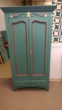 Antique 2 Door Cupboard Painted