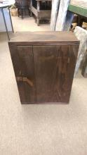 Antique Pine Hanging Cupboard in