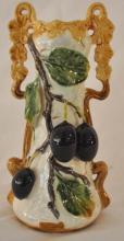 Antique Figural Ceramic Vase