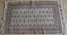 Fine Handmade Oriental Carpet with Cream Ground