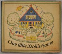 Antique Paper Doll Story Book
