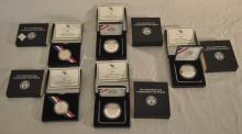Five 2011 US Army Commemorative Coins
