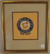 Church & Co. Needlework Panel