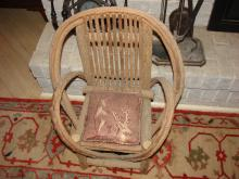 Rustic Twig Child's Chair Adirondack Style