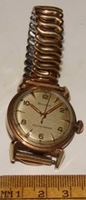Bulova Self Winding Wristwatch - Gold Filled Bezel