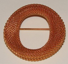 Gold Filled Wire Mesh