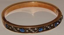 Edwardian Gold Filled Bracelet - Estate - Paste