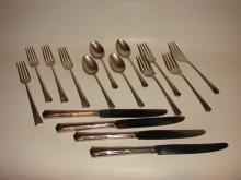 Gorham Sterling Silver Flatware Service for  Four