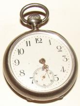 Ladies Antique Open Face Pocket Watch