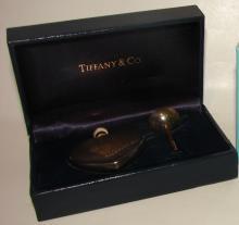 Tiffany & Co. Sterling Perfume Bottle & Funnel