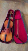 Miniature Cello & Case