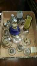 Lot of Misc. Bunson Burners and Kerosene Lanterns