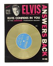 1956 Elvis Presley Fan Magazine Pair -