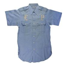 Early 1960s Graceland Security Guard Shirt Worn by Elvis Presley's Uncle Travis Smith