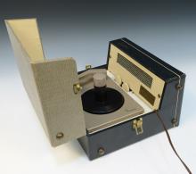 1956 Elvis Presley Enterprises RCA Victor Model 7-EP-45 Record Player