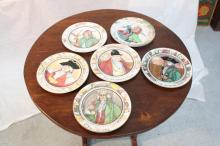 Six Royal Doulton 10 inch English Plates