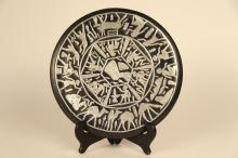 Egyptian Plate with Wood Stand