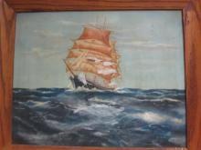H.J. BUKELAER oil on canvas