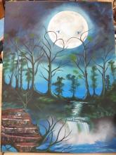 TOM KINGSTONE-HUNT oil on Canvas